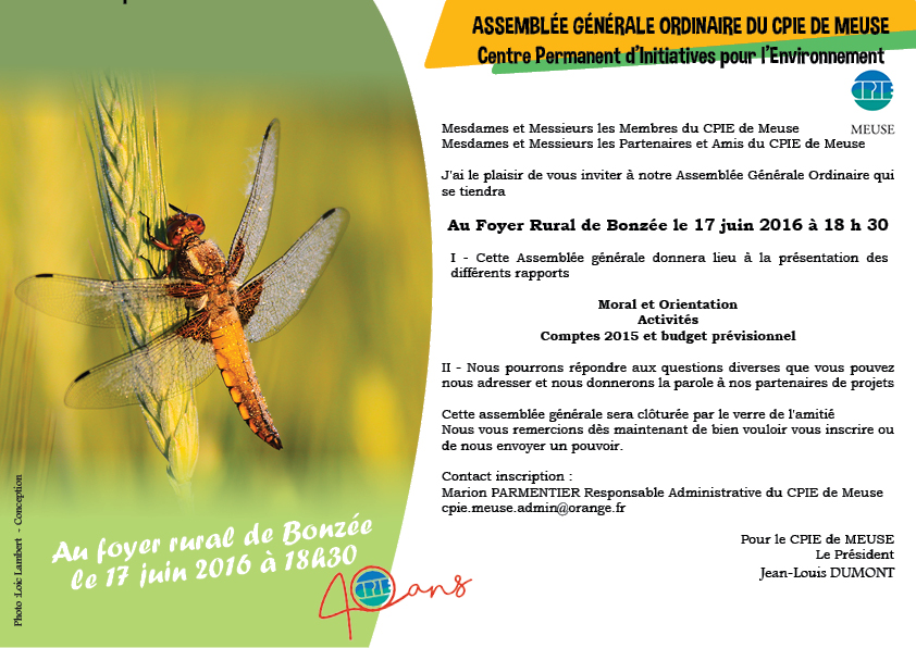 AG2016 invitation courrier